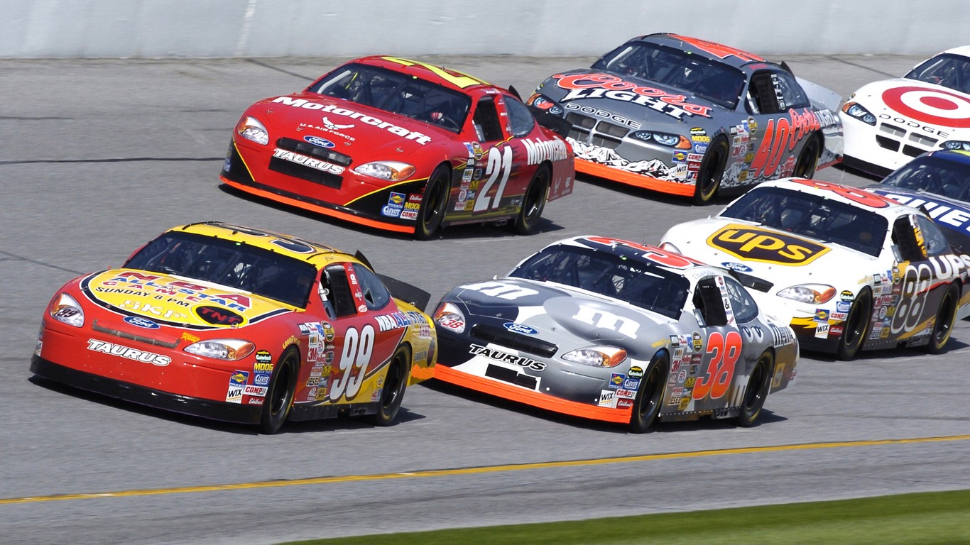 Course de Nascar live streaming